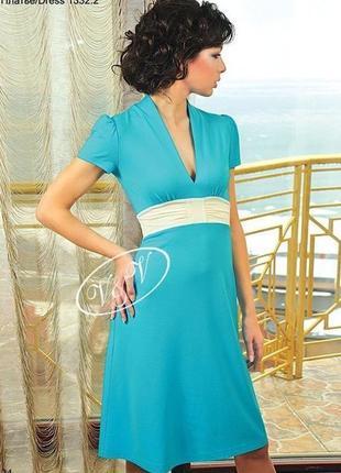 Яркое летнее платье тм v&v