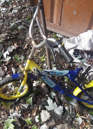 Детский велосипед до 6 лет.