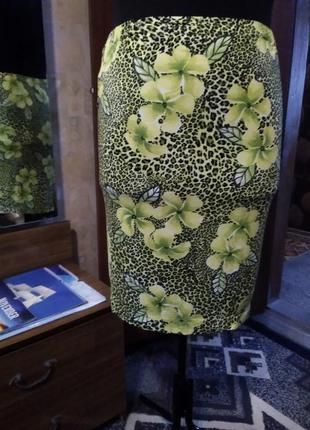 Классная летняя юбочка, большого размера