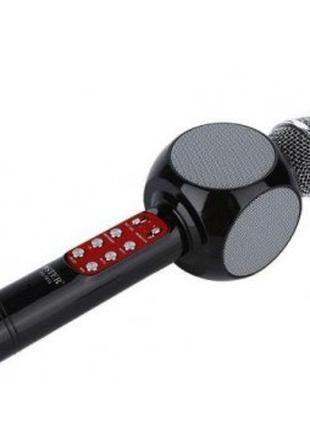 Беспроводной микрофон караоке bluetooth 1816 Black (4219)