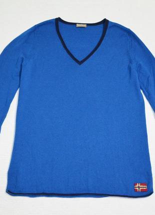 Шерстяной пуловер napapijri