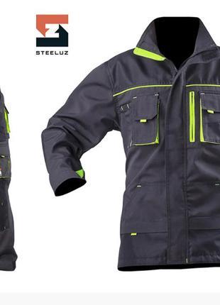 Костюм рабочий SteelUZ куртка и брюки с отделкой