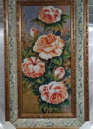 "Картина гобелен ""Букет цветов"""