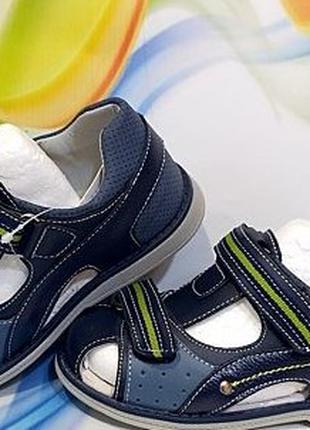 Детские ортопедические босоножки сандали на мальчика Том. М. 26-3