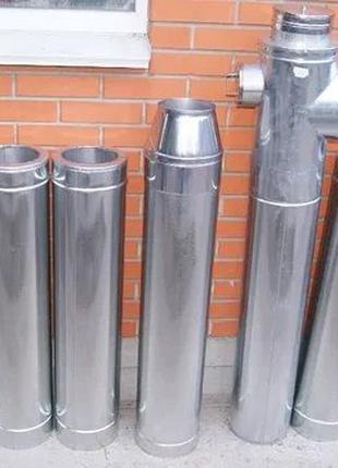 Утепленные дымоходные трубы нержавеющая сталь с завода Версия-...