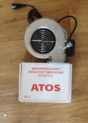 Автоматика для твердотопливного котла + Турбина в комплекте де...