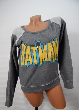 Красивая кофта, свитшот с надписью batman