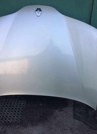 Б/у капот 7751471641, Renault Laguna 2, Рено Лагуна 2, цвет MV190