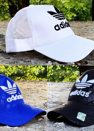 Кепка Adidas print blue,black,white