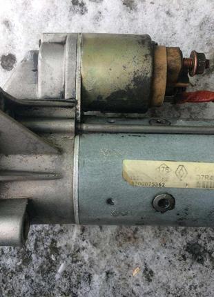 Б/у стартер Renault 1.9dci 8200075362 VALEO D7R49, Laguna, Trafic