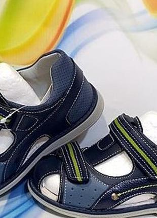 Детские ортопедические босоножки сандали на мальчика том. м. 2...
