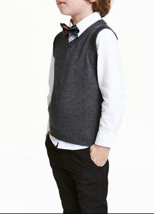 Рубашка и жилет h&m