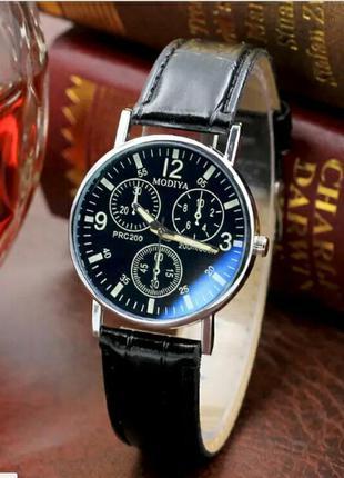 Элегантные мужские наручные кварцевые часы с римскими цифрами