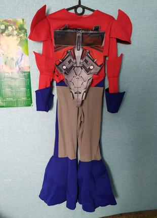 Детский костюм Трансформера Оптимус Прайм на 5-6 лет
