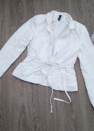 Белый пиджак vero moda, s-m