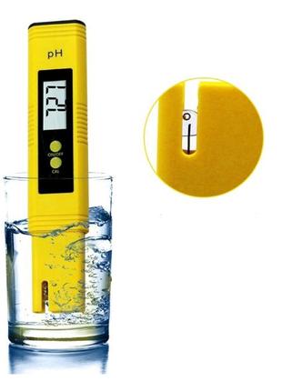 Ph meter, измеритель кислотности до сотых с авто калибровкой, PH