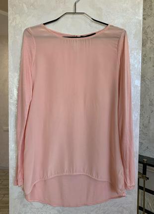 Шёлковая блуза топ бренда HALLHUBER. Размер М.
