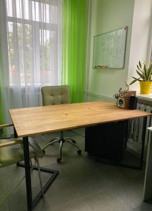 Рабочий дизайнерский стол офисный компьютерный