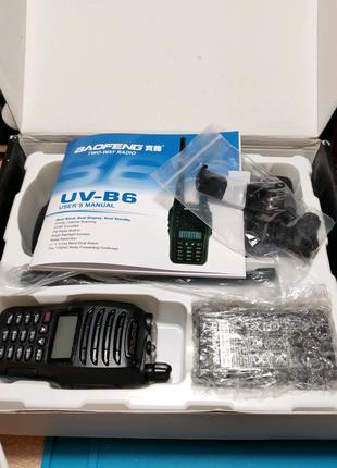 Радиостанция BAOFENG UV-B6