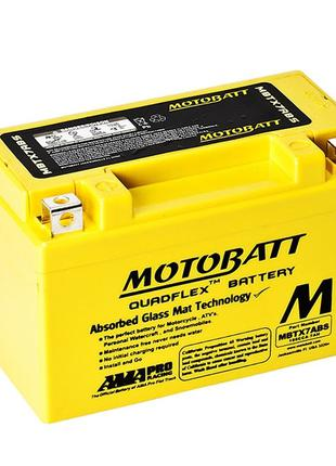 Аккумулятор AGM Motobatt MBTX7ABS