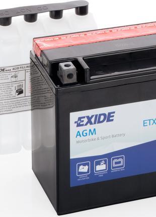 Аккумулятор для мототехники EXIDE ETX20HL-BS = YTX20HL-BS