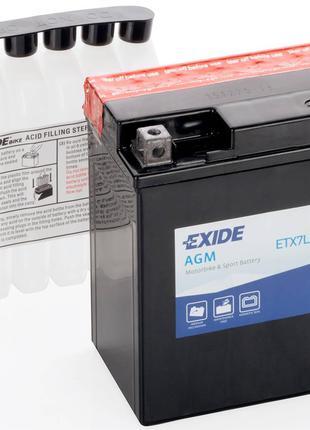 Аккумулятор для мотоцикла Exide ETX7L-BS = YTX7L-BS