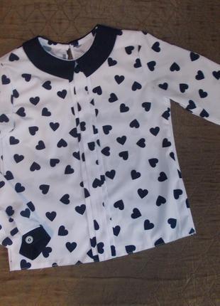 Новая блузка в школу.