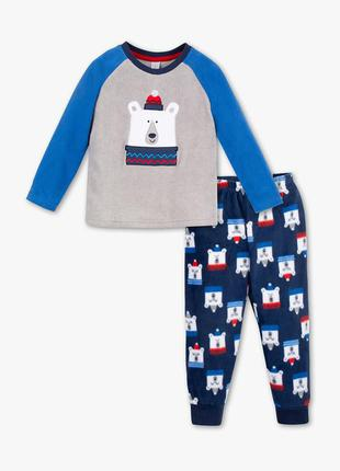 Флисовая пижама, palomino ,128 см.