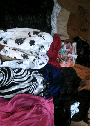 Пакет вещей на девочку 13-14 лет.