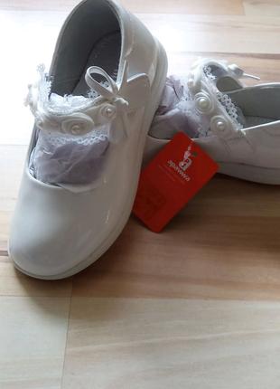 Праздничные туфельки для девочки