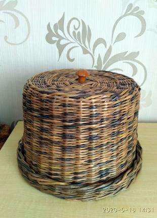 Хлебница ручной работы