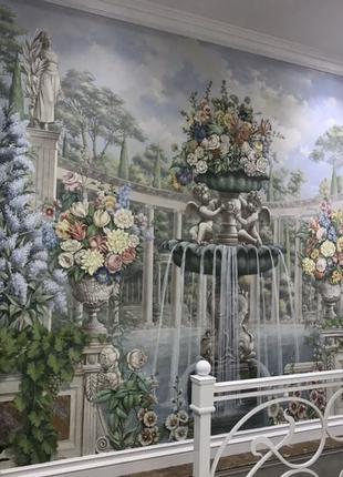 Розпис стін, барельєф, фреска, мурал, декор, та інші послуги худо