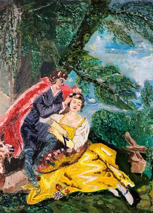 Картина на тему Буше Весна 4 сезона