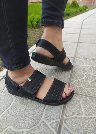 Женские спортивные летние сандалии, черные босоножки