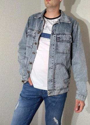 Джинсовая куртка мужская cardellino