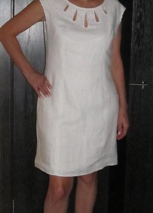 Льняное платье от next р. 16