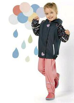 Германия. Классная куртка-дождевик для девочки. 86/92.
