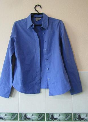 Рубашка лора эшли - английский бренд женской одежды/made in sy...