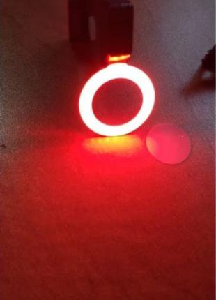 Велосипедный задний LED фонарь