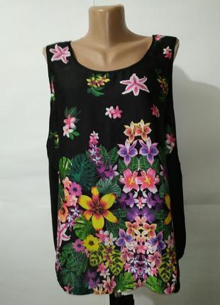 Легкая очень красивая блуза marks&spencer uk 12/40/m
