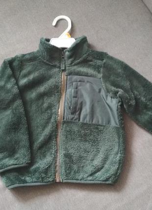 Новый пуловер меховой кофта carter's (картерс), сша, мальчику ...