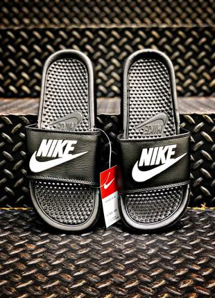 Летние тапочки Sleepers Nike Black|Black Summer