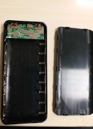 Корпус DIY Power Bank 8 x 18650 LCD дисплей 5V 3А QC3.0
