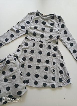 Красивое теплое платье для девочки  от немецкого торгового дом...