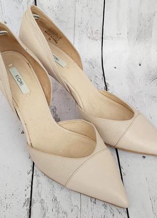 Туфли лодочки , кожа натуральная