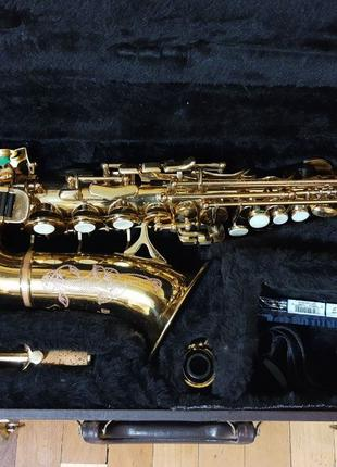 Саксофон сопрано гнутое Blessing