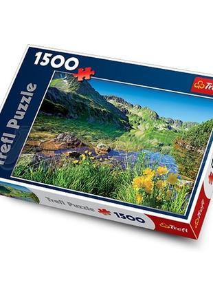 Пазл Большое озеро в Татрах 1500 эл
