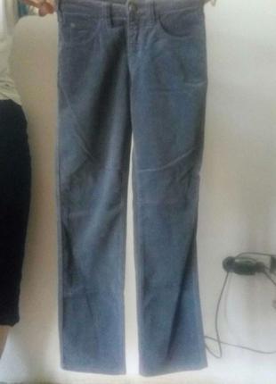 Стильные джинсы,стриженный бархат/стрейч