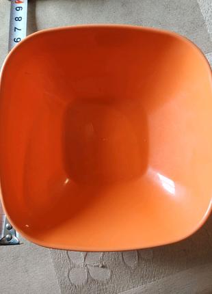 Тарелка пластик