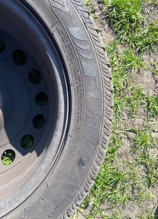 Диски с резиной Fulda R16 205 55 WV, Skoda, AUDI